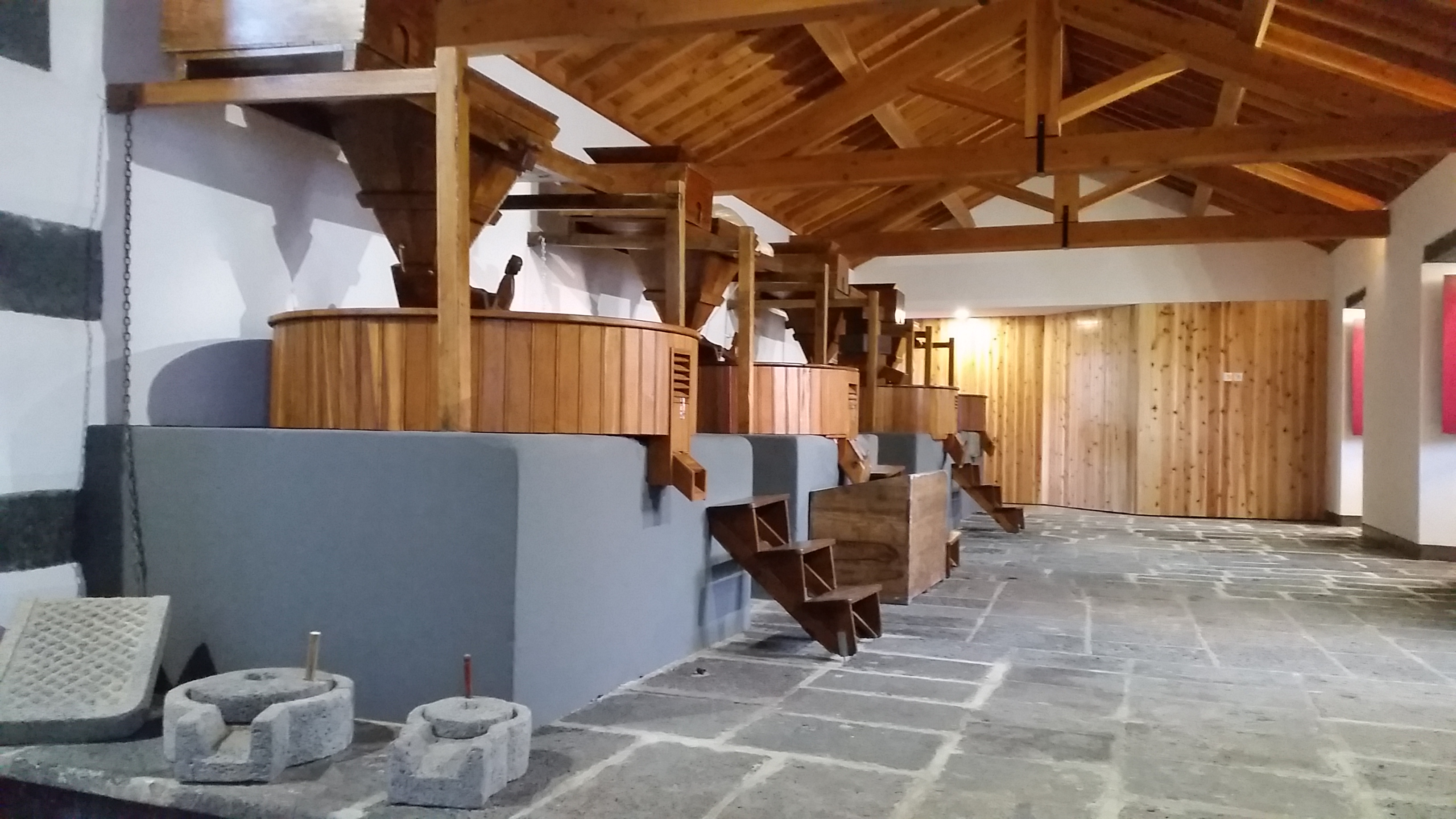 Interior of the watermill