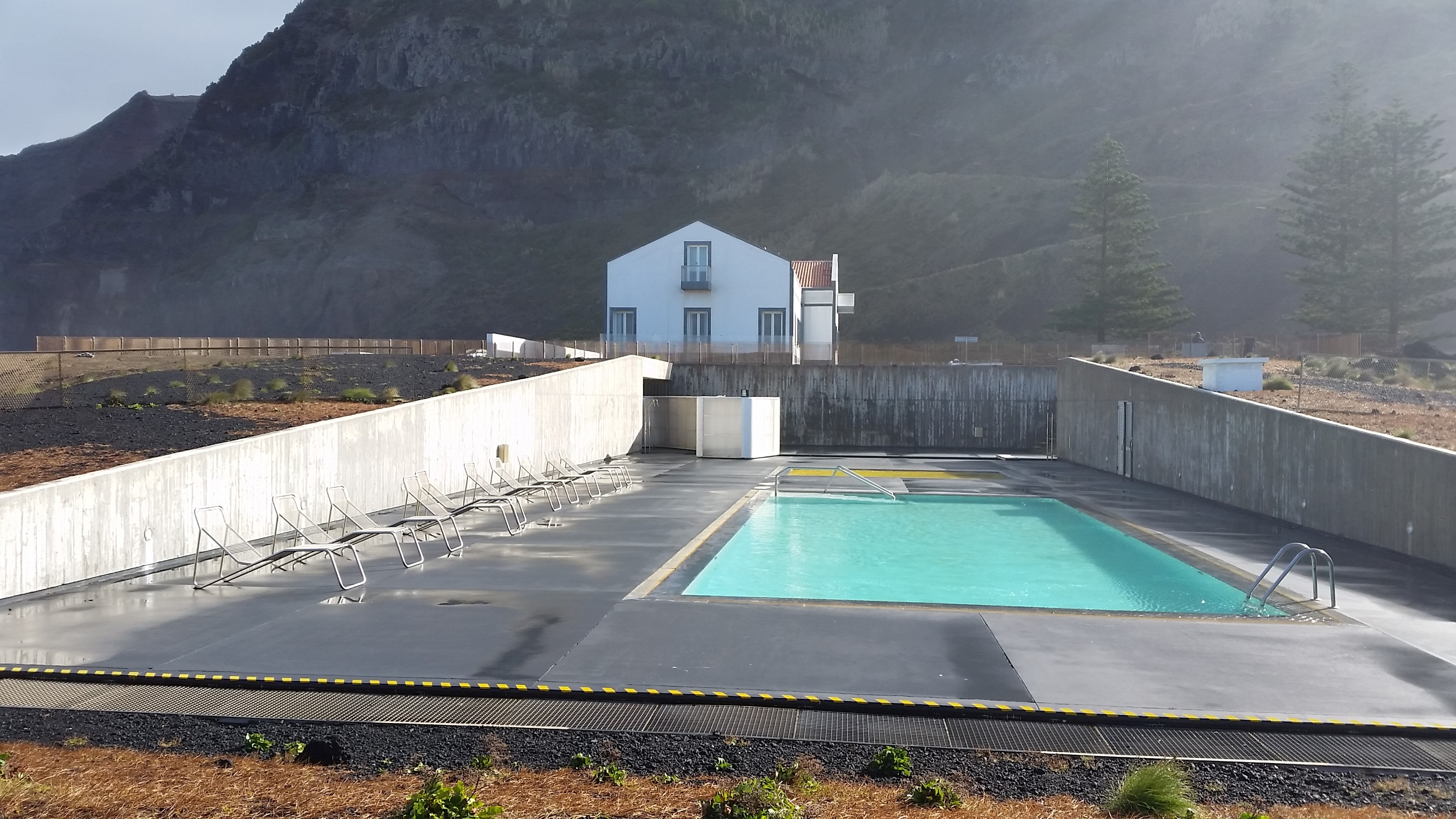 Ferraria Thermal building and pools