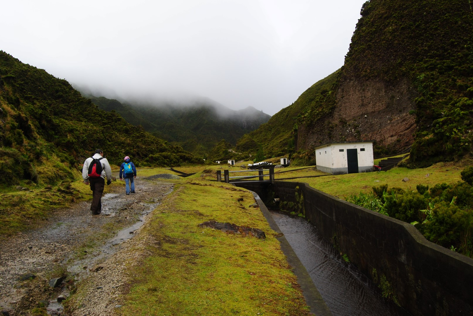 Water Channel (Levada) on the Fire Lake Trail