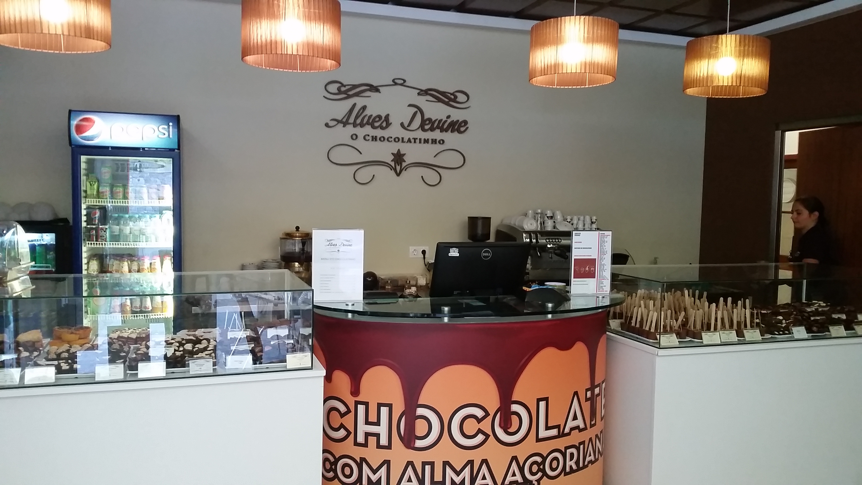 Azorean Chocolate shop
