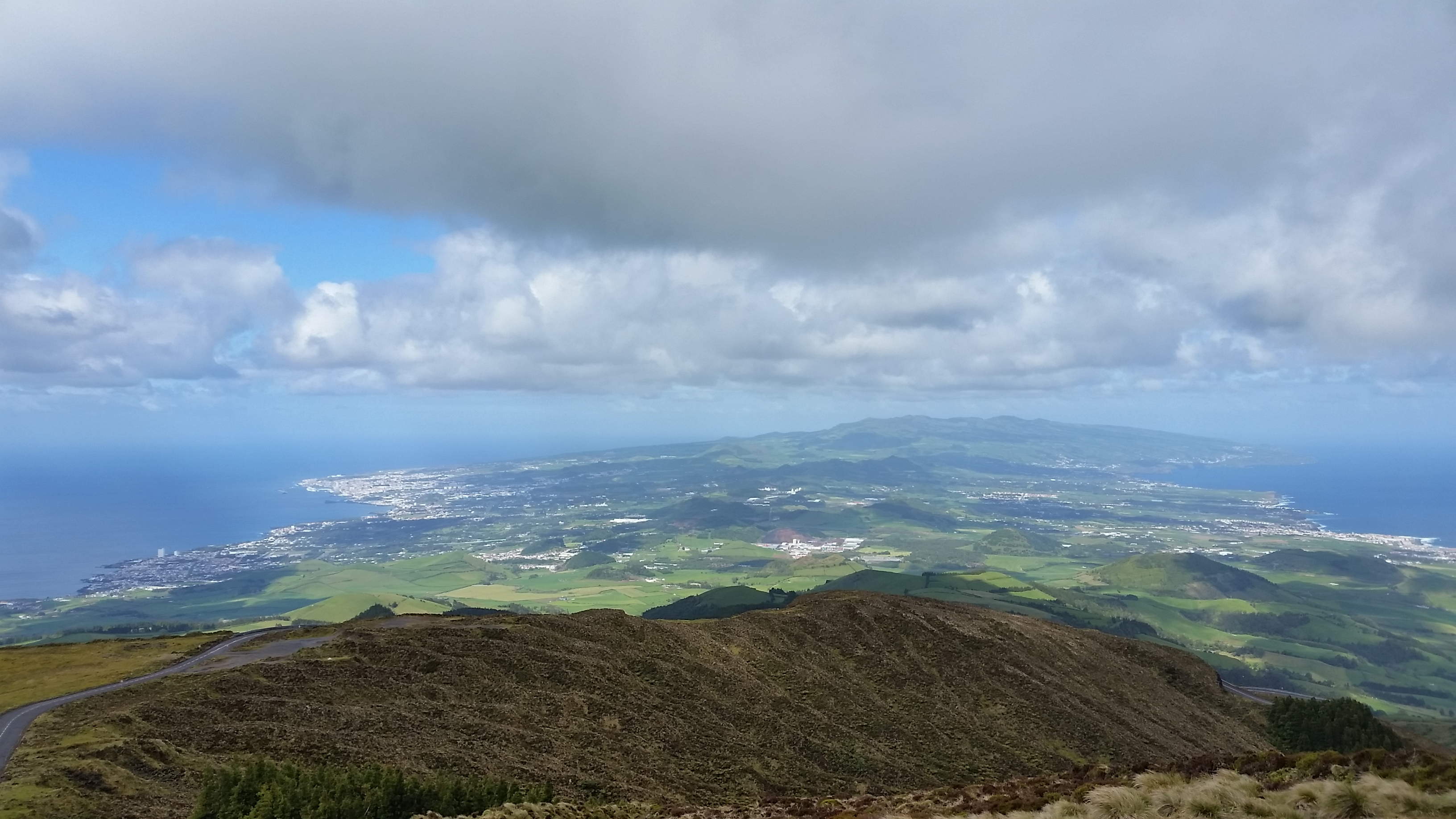 Top of Pico da Barrosa (Sao Miguel island)