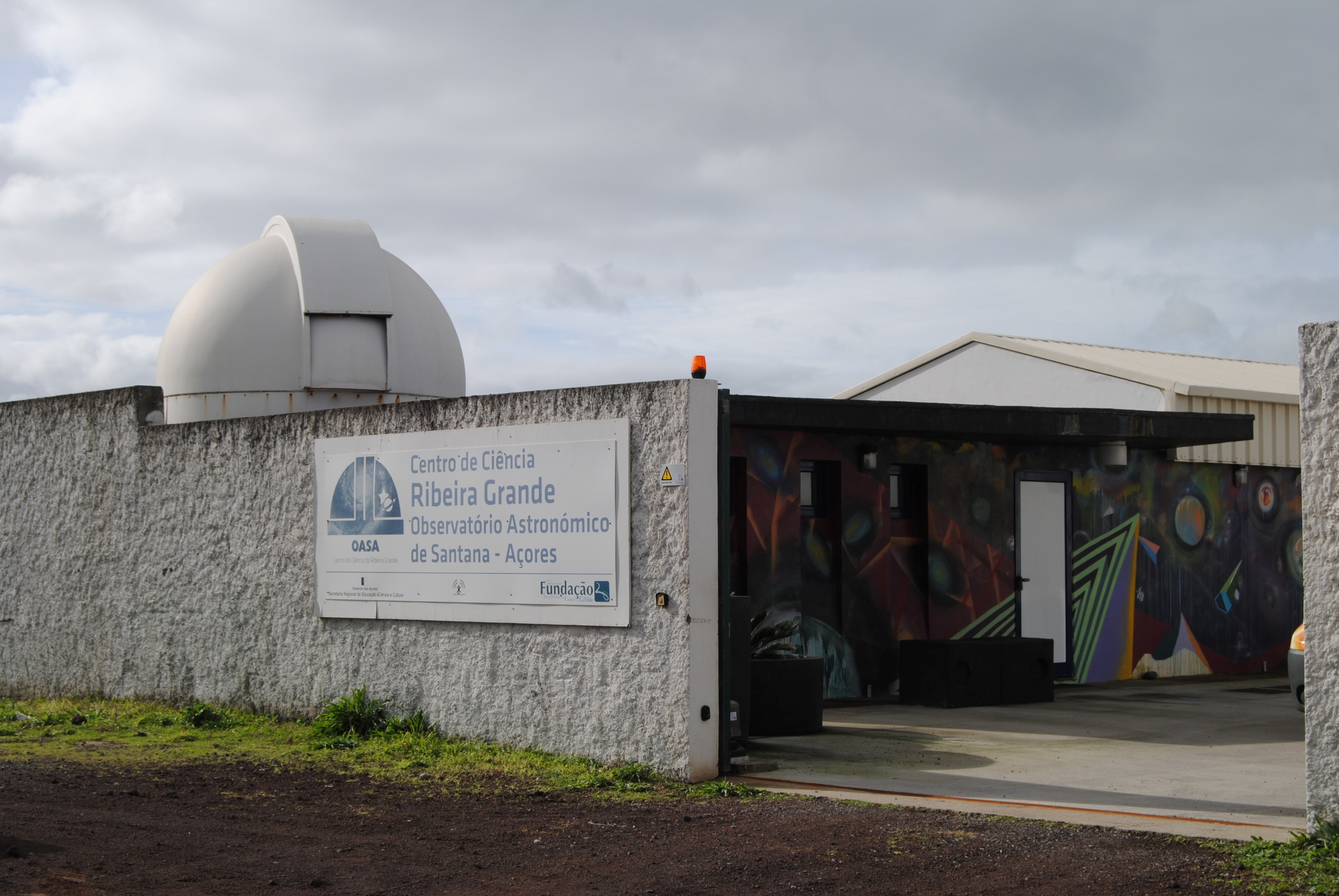 Astronomical Observatory center of Santana, Azores - OASA