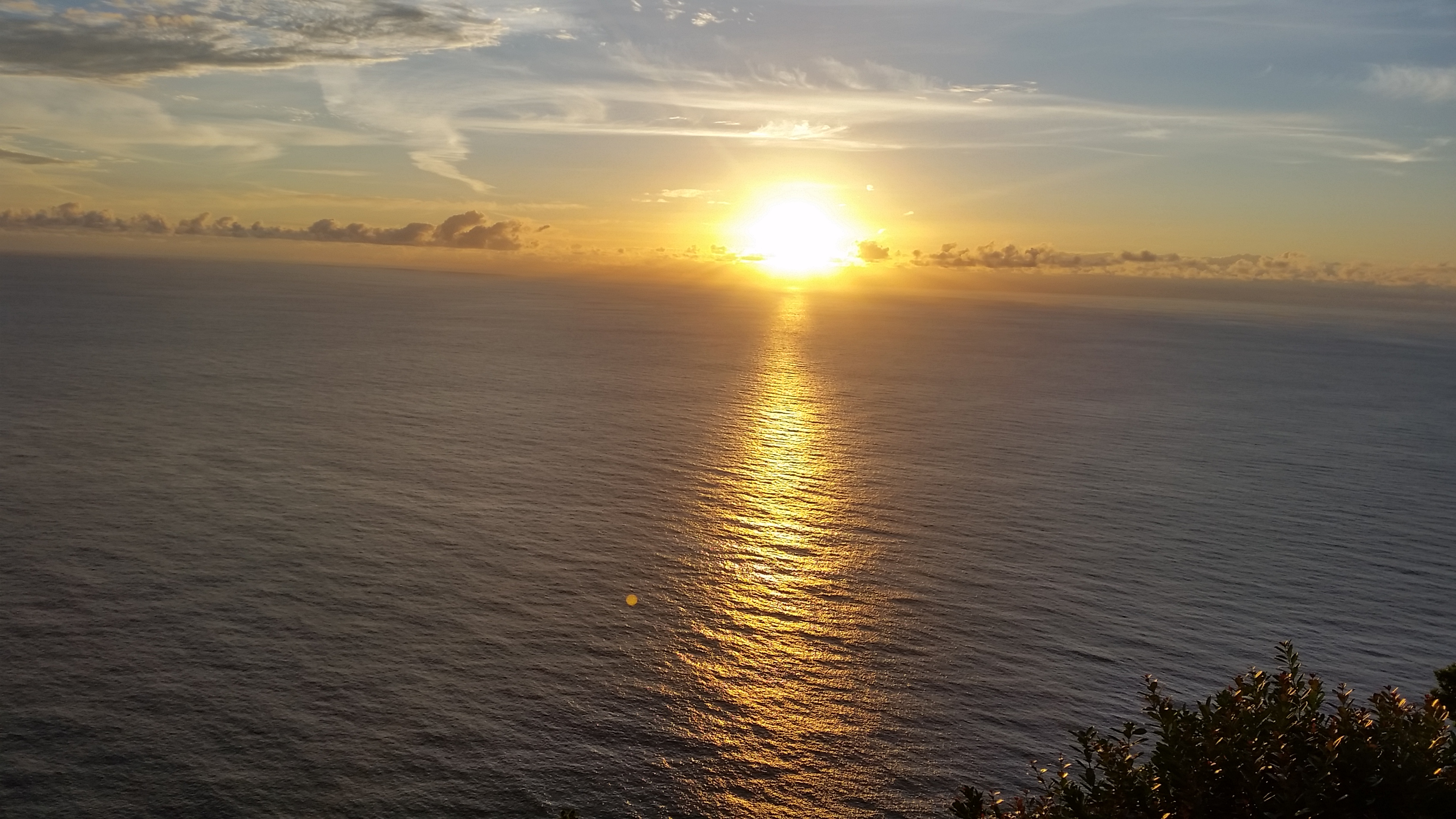 Sunrise at Ponta da Madrugada viewpoint