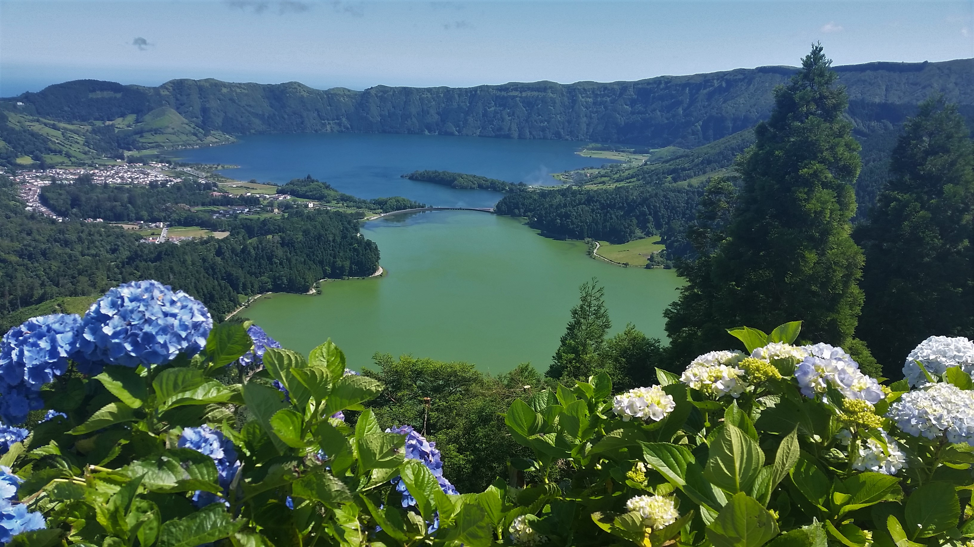 Kings view (Sete Cidades Lakes)